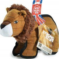 Strong Stuff Lion Dog Tug Toy